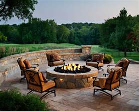 patio furniture with pit designing a patio around a pit diy