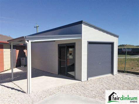 Skillion Roof Shed by Skillion Roof Sheds Garages Designs Fair Dinkum Sheds