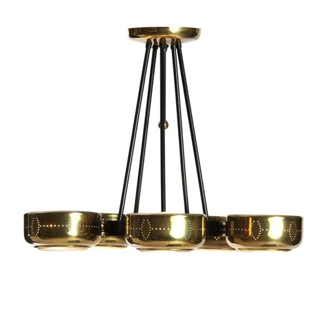 Lightolier Chandelier Perforated Chandelier By Lightolier For Sale At 1stdibs