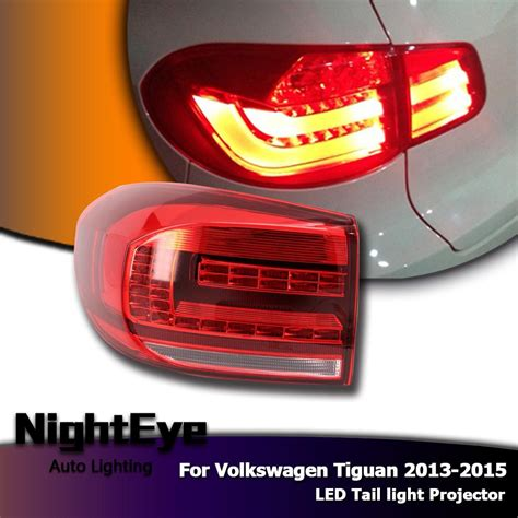 tiguan volkswagen lights nighteye vw tiguan tail lights 2013 2015 new tiguan led