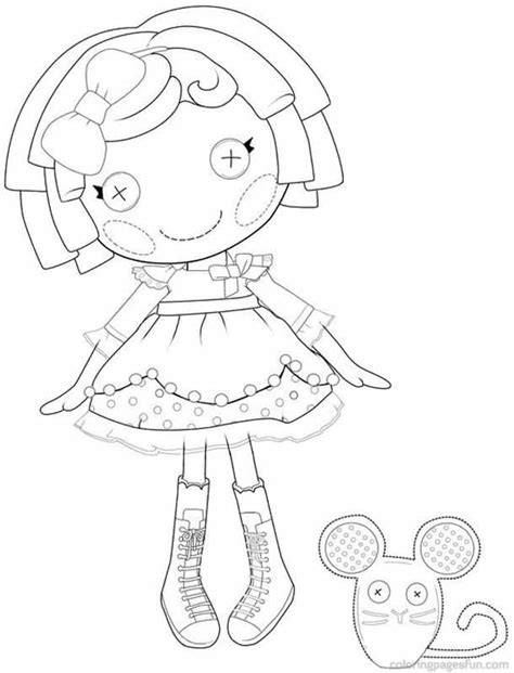 Lalaloopsy Coloring Pages Online Coloring Home Lalaloopsy Colouring Pages