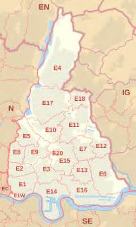 Waltham Zip Code Map by E Postcode Area Wikipedia