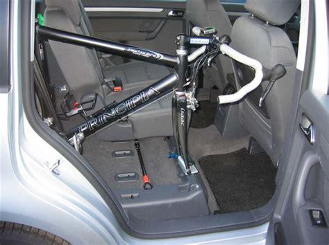 Fahrradhalter F R Auto Innenraum by Innenraum Fahrradtr 228 Ger Einzelbefestigung System