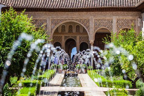 imagenes de jardines arabes fuentes alhambra tour granada meet granada