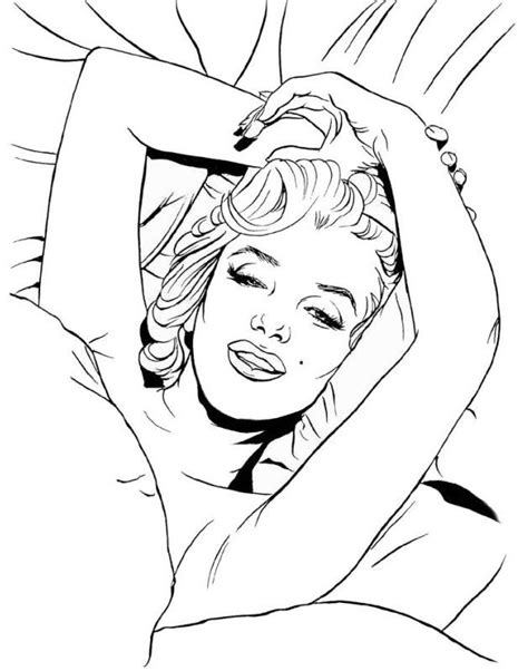 pin up coloring pages free pin up coloring pages