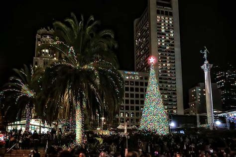 union square tree lighting 2016 theregistry bay area