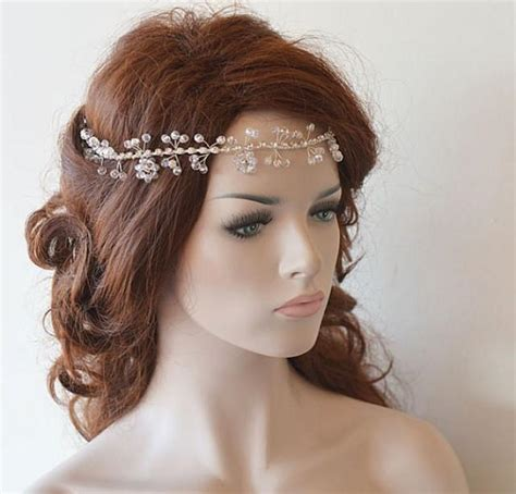 Wedding Hair With Accessories by Wedding Headband Bridal Hair Vine Bridal Headband