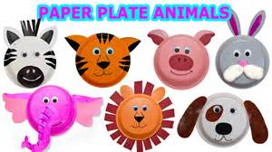 Animal Paper Crafts Templates by How To Create Animals Using Paper Plates Craft
