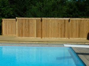 custom wood fence traditional pool grand rapids by