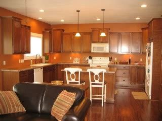 quot brandywine quot by sherwin williams kitchens on a budget