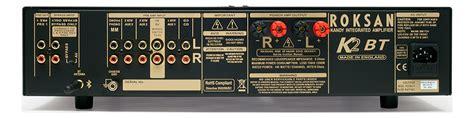 roksan  bt black integrated amplifier amplifiers