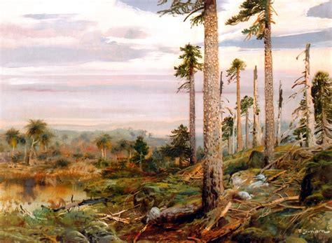 mesozoic era mesozoic era landscapes zdeněk burian the mesozoic era