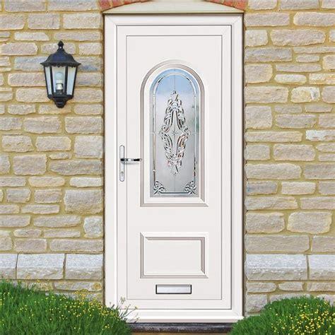 Exterior Pvcu Orrin Grande Door Glazedfrontdoors Pvcu Front Doors