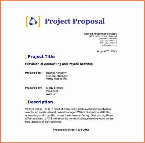 project proposal layout sle 6 business proposal template pdf project proposal