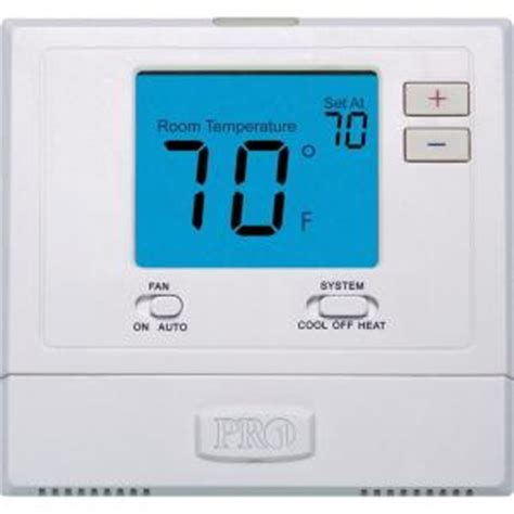 pro 1 t701 digital non programmable wall thermostat with