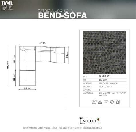 b v divani divano b b divano bend sofa b b italia vendita b