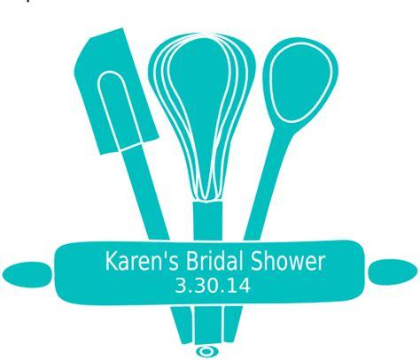 Kitchen themed Bridal Shower Clip Art at Clker.com   vector clip art online, royalty free