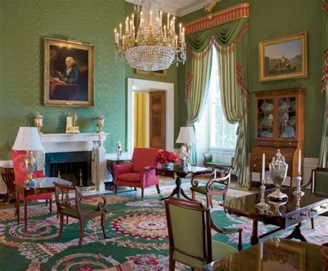 Rooms Of The White House green room white house museum