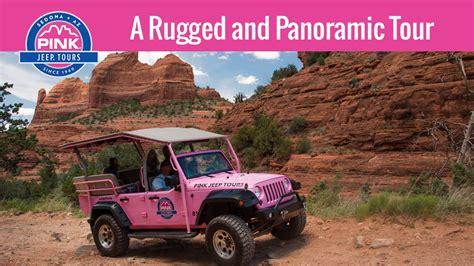 pink jeep tours az scenic tour sedona pink jeep tours