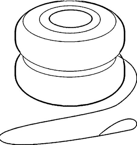 yoyo template yoyo coloring page free printable coloring pages