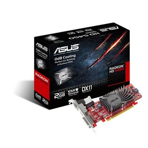 Vga 2gb Radeon asus hd5450 sl 2gd3 l graphics card amd radeon hd 5450 2gb pci e vga dvi hdmi ebay