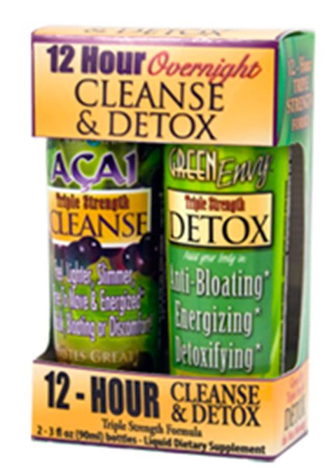 24 Hour Detox Cleanse by Fit For Fall Agrolabs 12 Hour Overnight Cleanse Detox