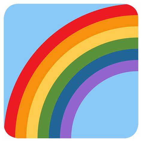 emoji rainbow list of twitter travel places emojis for use as facebook