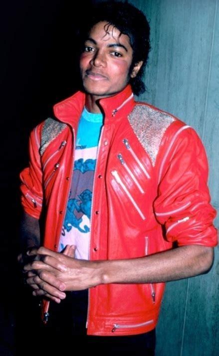 Mj Leather Pink michael jackson beat it jacket