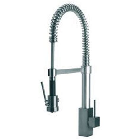 La Toscana Faucets by La Toscana 84cr557 Dax Pre Rinse Kitchen Faucet Chrome