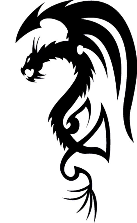 easy tattoo of dragon simple dragon tattoo image clipart best