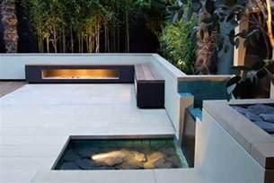 moderne terrassen terrassengestaltung mit wasser freshouse