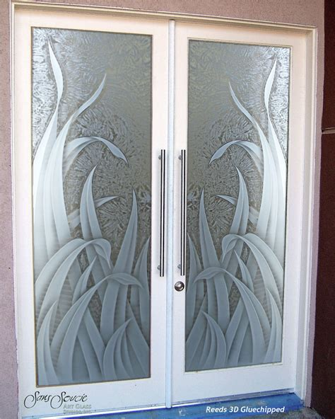 front door glass designs double entry doors with custom frosted glass sans soucie