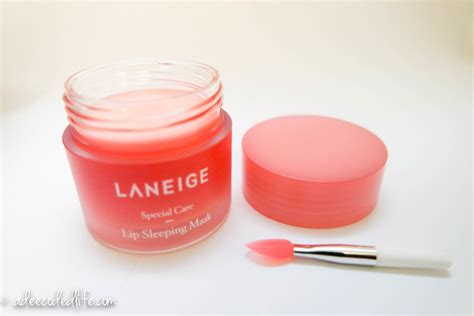 Po Laneige Lip Sleeping Mask laneige lip sleeping mask review a deecoded