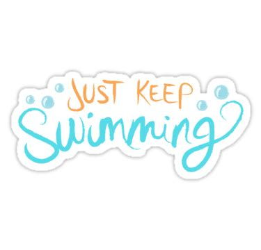 Swimming Stickers