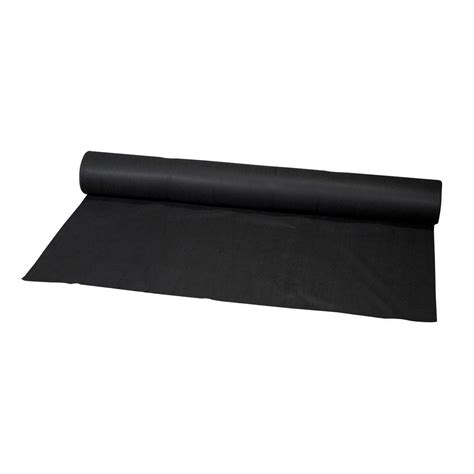 6 ft x 300 ft black polypropylene non woven filter