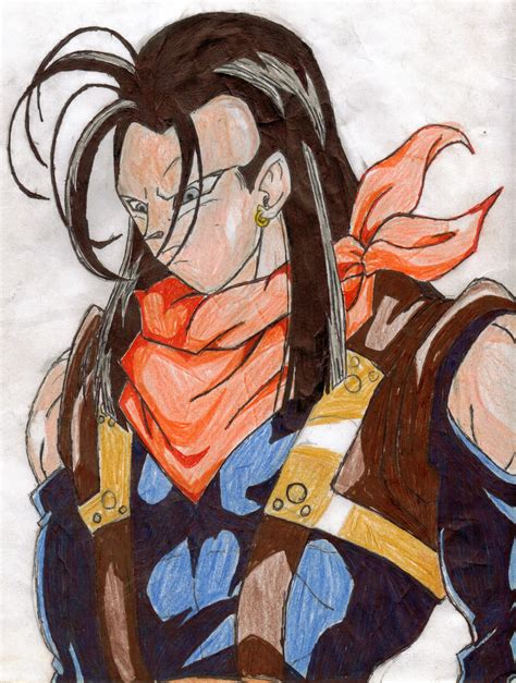 Will Android 17 Come Back by Android 17 Remastered By Shadow Ishimori Clan On