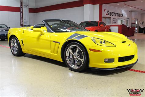 2011 chevrolet corvette grand sport convertible stock