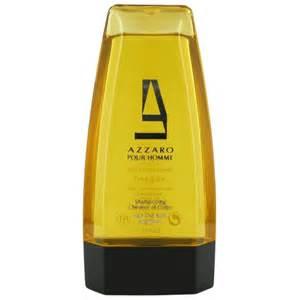 gel et savon azzaro pour shooing cheveux