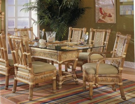 Bamboo Dining Room Furniture Bamboo Dining Room Set Home Design Ideas