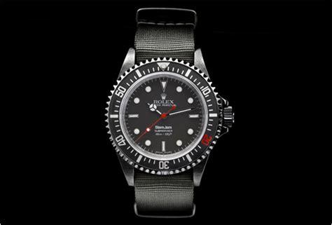 Jam Dinding Rolex Deepsea Submariner custom rolex submariner by slam jam