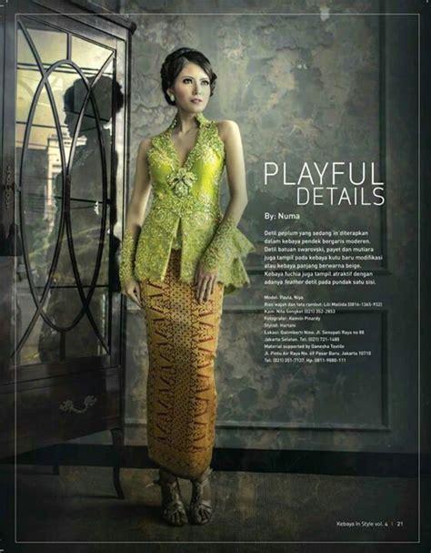 Bordir Blouse Magenta Yuriko 300 best images about kebaya on fashion weeks kebaya lace and traditional