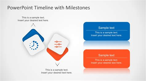 Free Milestone Shapes And Timeline Powerpoint Milestone Presentation Template