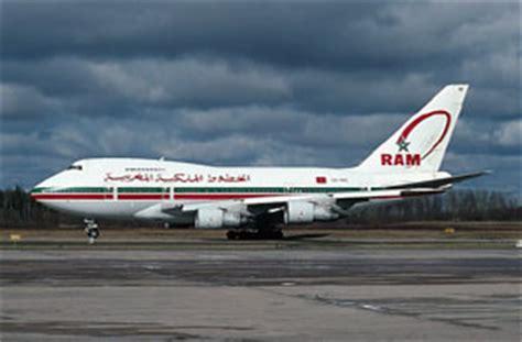 ram airlines portrait royal air maroc ram portr 228 t historie history