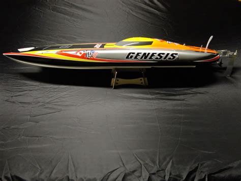 fast rc brushless boats rc genesis racing boat electric catamaran twin hull rtr