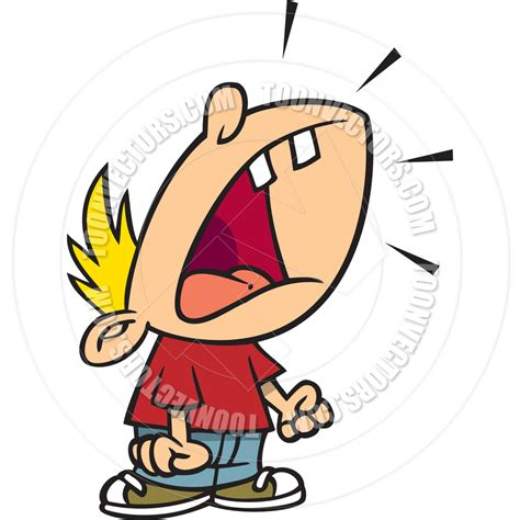 clipart yelling screaming boy clipart clipart suggest