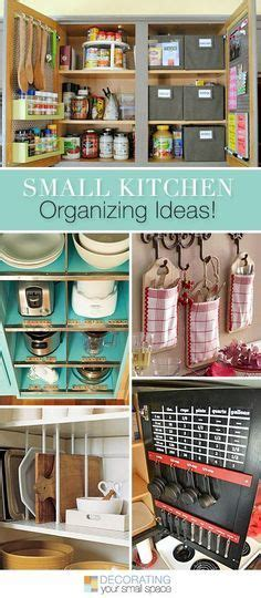 kitchen organisation ideas best 25 organizing small homes ideas on small