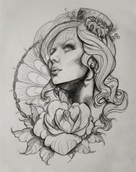 sketch tattoo style design sketch 1 by illogan on deviantart