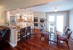 kitchen peninsula raised ranch design ideas pictures