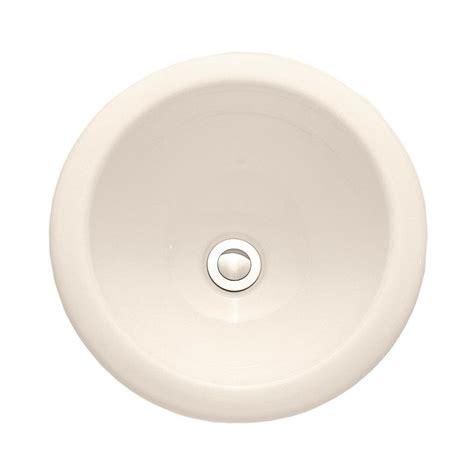 american standard white drop   bathroom sink  overflow drain  lowesforproscom