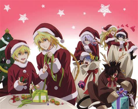 world  anime merry christmas  anime fans